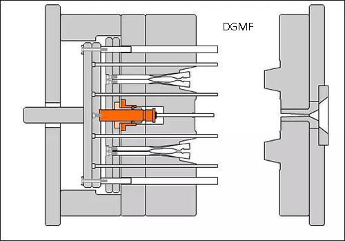 12. Combination diagram of the snap hook mechanism