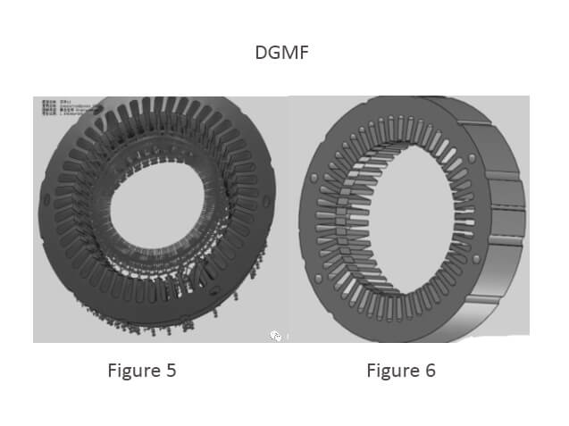 Convex-concave punch mold structure