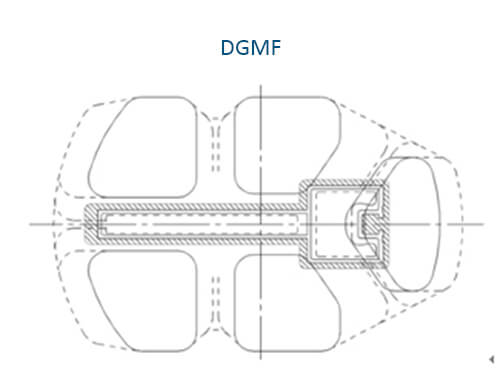 Figure 1 Design drawing of the secondary welding chamber