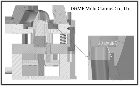 Figure 13 The part of the shell that has not been demolded