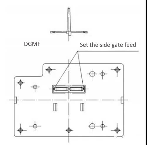 Injection molding processability analysis of plastic parts