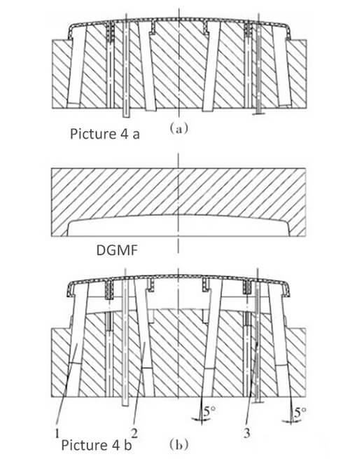 Figure 4 Injection mold cavity design