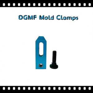 Closed-toe Mold Clamps for a press die cast machine