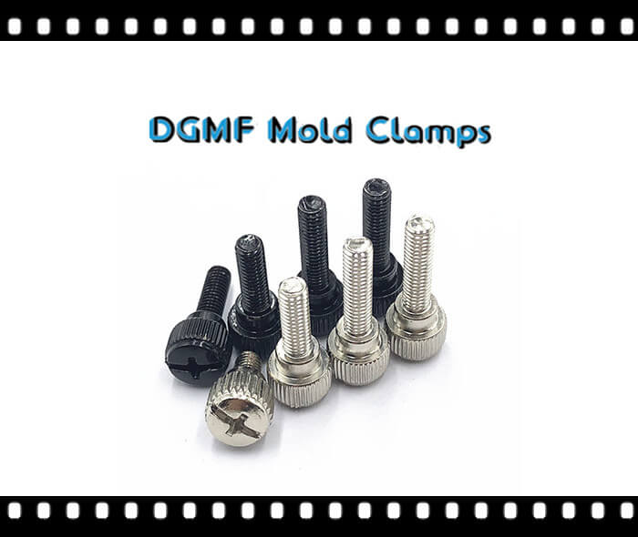Knurled Thumb Screws With Shoulder