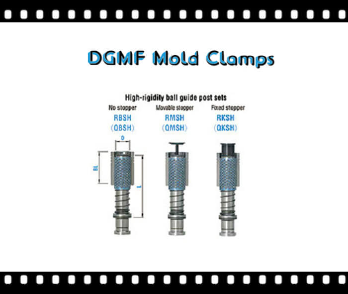 Mold Components High-rigidity ball guide post sets