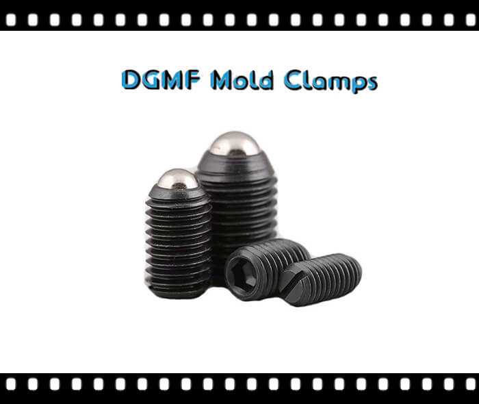 Mold Components Slotted Spring plungers hex socket ball plungers