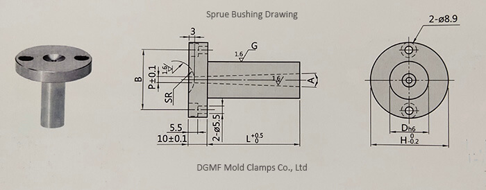 Mold Components Sprue Bushing Type A Manufacturer in China