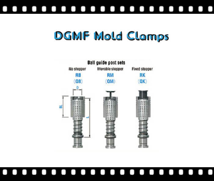 Mold Components ball guide post sets