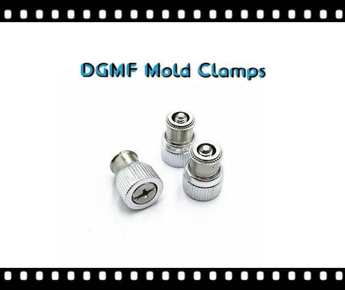 Self-clinching Captive Panel Screw With Spring-loaded Low Profile Knob