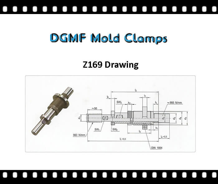 Z169 two stage ejector drawing