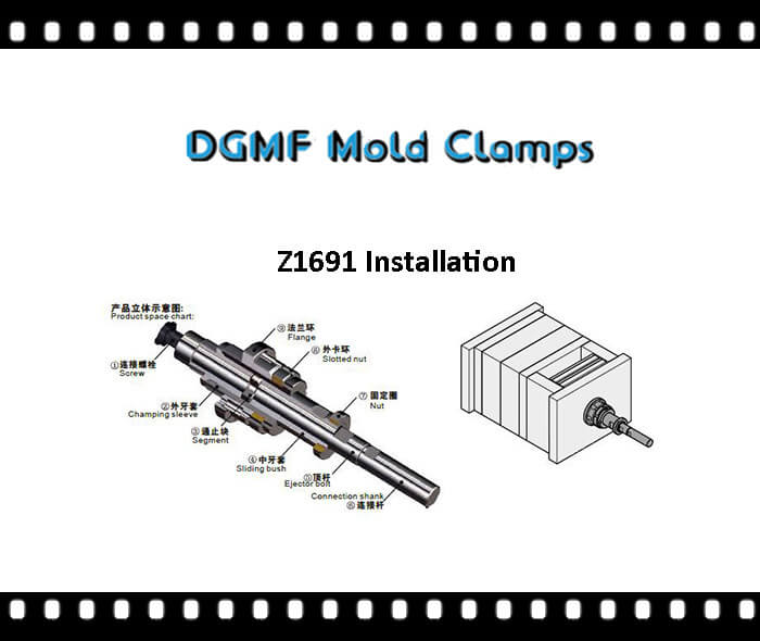 Z1691 Two stage ejector installation