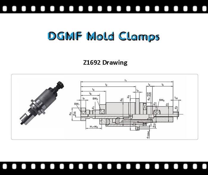 Z1692 two stage injector drawing