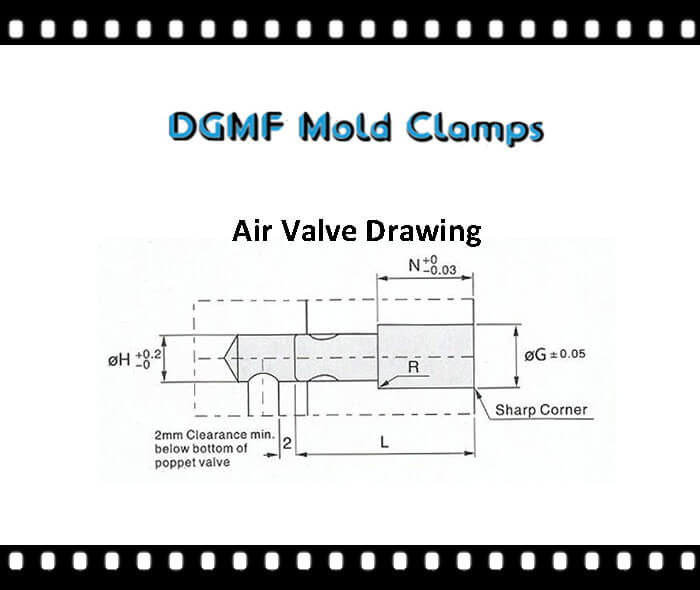 air poppet valve drawing