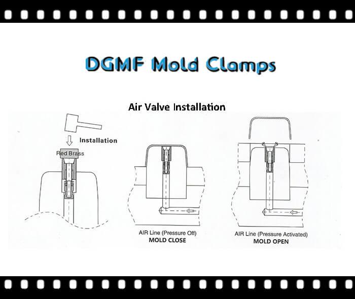 mold air valve installation