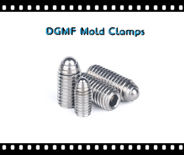 stainless ball nose spring plungers