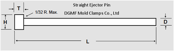 ejector pin straight ejector pins