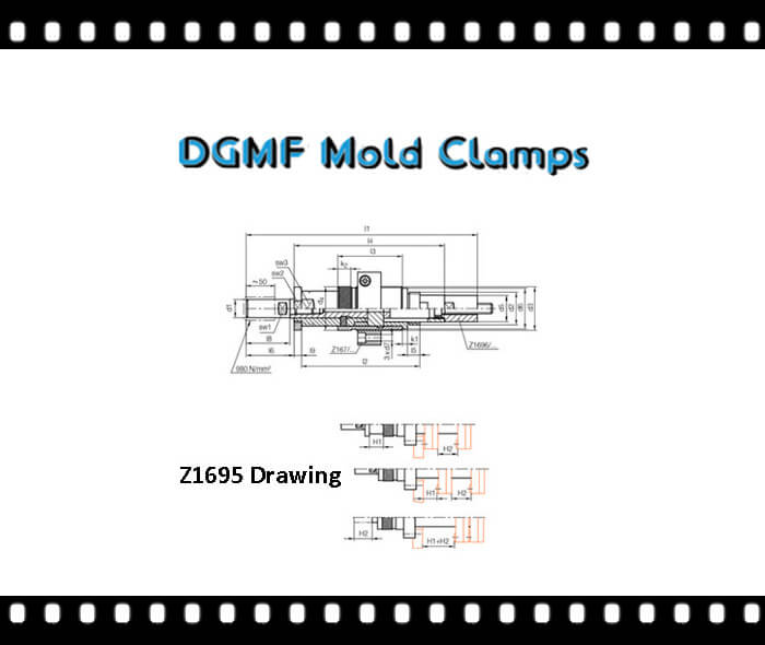 Z1695 two stage ejector drawing