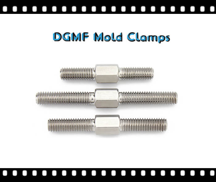 Stainless Steel Hexagonal Stud Bolts With Right Hand Left Hand Threaded