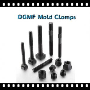 mold clamp bolts and mold clamp nuts clamping elements