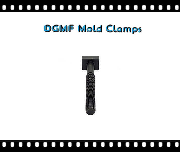 square head t bolt for mold clamps