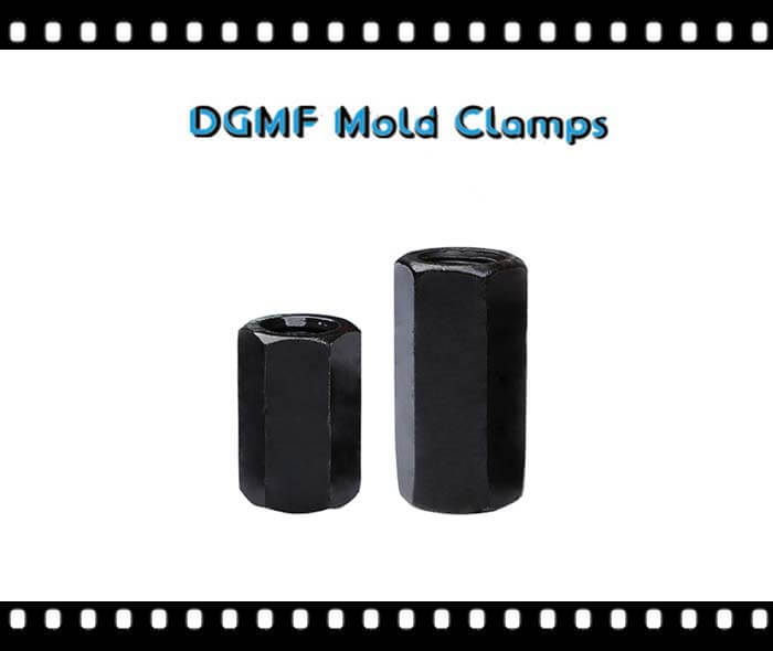 The Extension Nuts Coupling Nuts are manufactured by DGMF Mold Clamps Co., Ltd